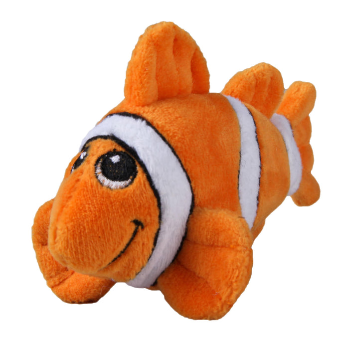 Tender-Tuffs Mighty Clownfish Orange Dog Toy
