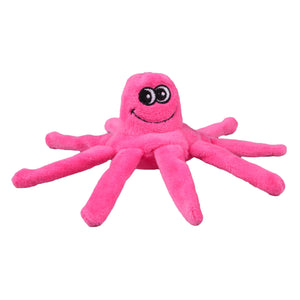 Tender-Tuffs Mighty Octopus Pink Dog Toy