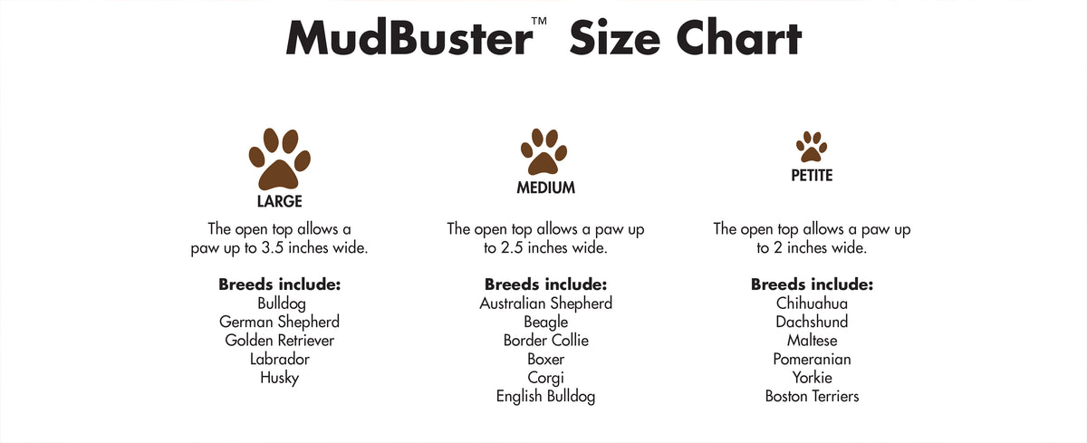 Dexas MudBuster Paw Cleaner – Critters Pet Health Store