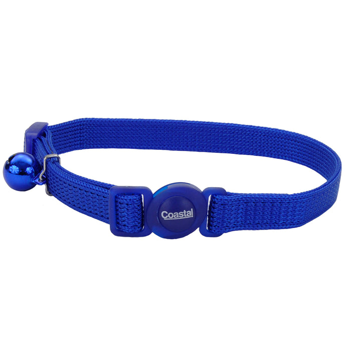 Coastal Adjustable Cat Collar 8-12IN Breakaway Blue