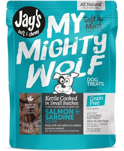 My Mighty Wolf 150g Salmon Dog Treats