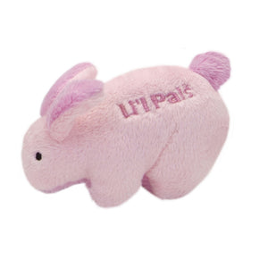 Li'l Pals Plush Rabbit Dog Toy
