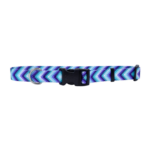 Coastal Adjustable Styles Dog Collar Diamond