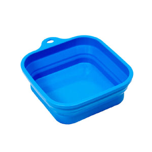 Bergan Collapsible Travel Blue Bowl
