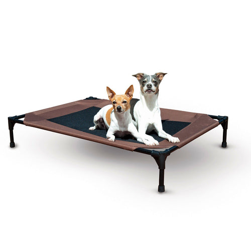 K&H Raised Pet Cot Chocolate