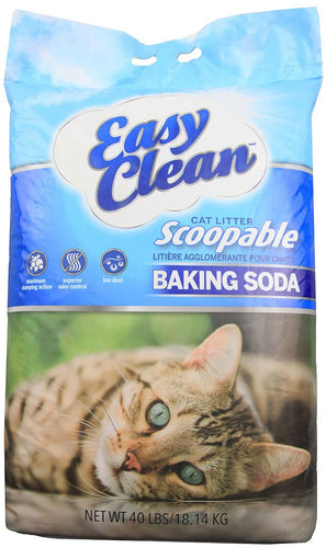 Pestell Easy Clean Baking Soda Cat Litter 80lbs