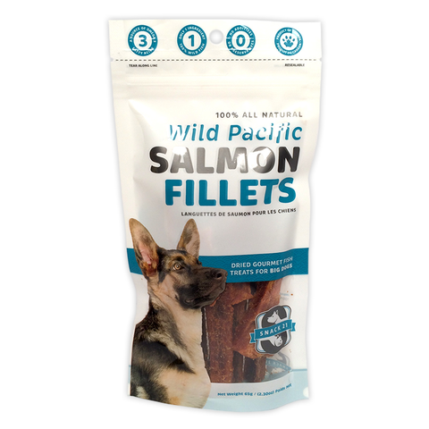 Snack 21 Salmon Fillets Dog Treats