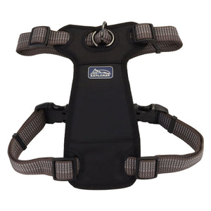 Coastal K9 Explorer Brights Reflective Front-Connect Dog Harness Black