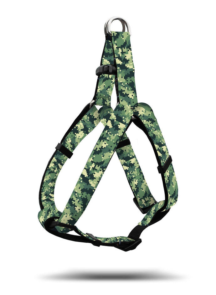 WOOF Adjustable Harness Digi-Camo