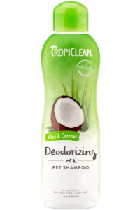 Tropiclean Aloe and Coconut Deodorizing Pet Shampoo 592ml Dog and Cat