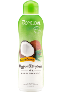 Tropiclean Gentle Coconut Hypoallergenic Pet Shampoo 592ml Dog and Cat