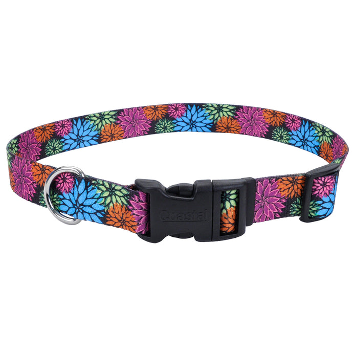 Coastal Adjustable Styles Dog Collar Wild Flower