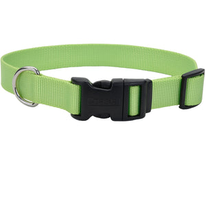 Coastal Adjustable Dog Collar Tuff Green