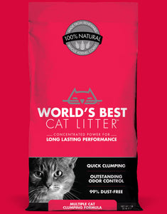 Worlds Best Unscented Cat Litter