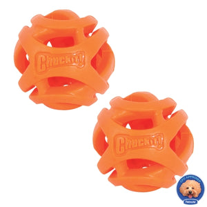 Chuckit Breathe Ball Small 2 Pack Dog Toy
