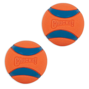 Chuckit Ultra Ball Medium 2 pack Dog Toy