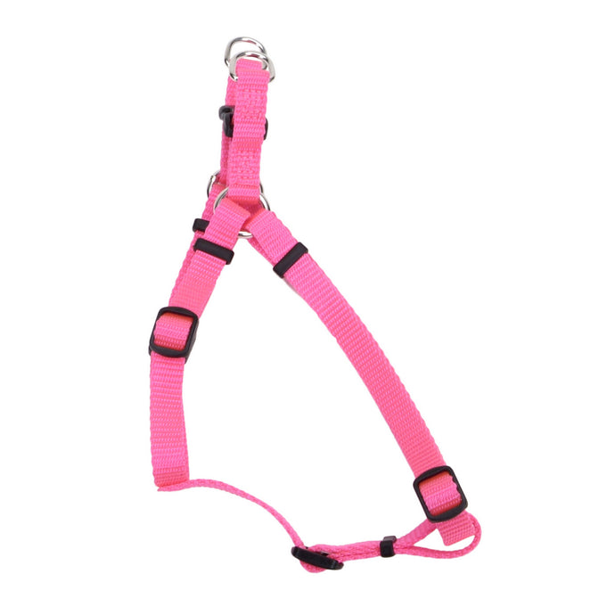 Coastal Adjustable Dog Harness Pink