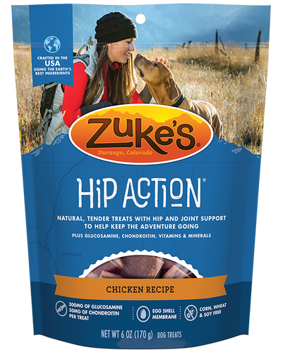 Zuke's Hip Action Chicken 454g