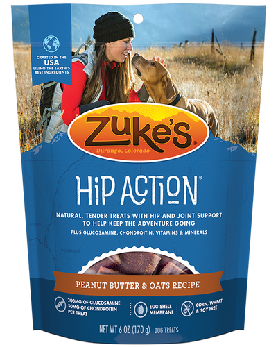 Zuke's Hip Action Peanut Butter 454g