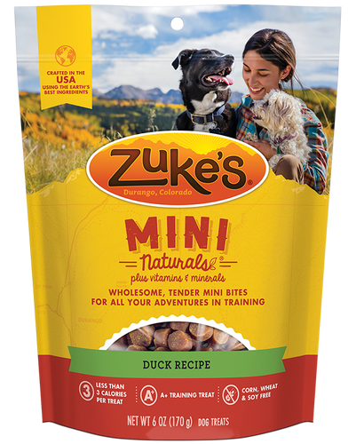 Zuke's Naturals Duck Dog Treats