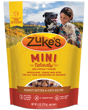 Load image into Gallery viewer, Zuke's Naturals Peanut Butter Dog Treats