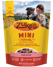 Load image into Gallery viewer, Zuke's Naturals Pork Dog Treats