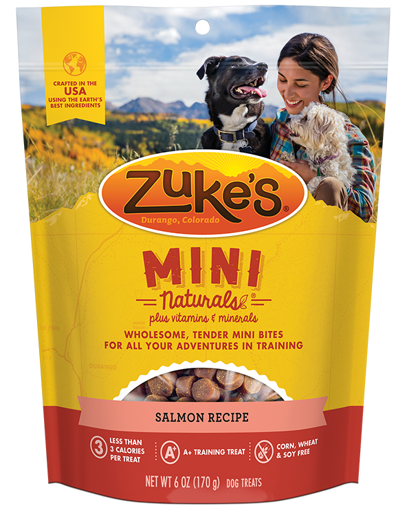 Zuke's Naturals Salmon Dog Treats