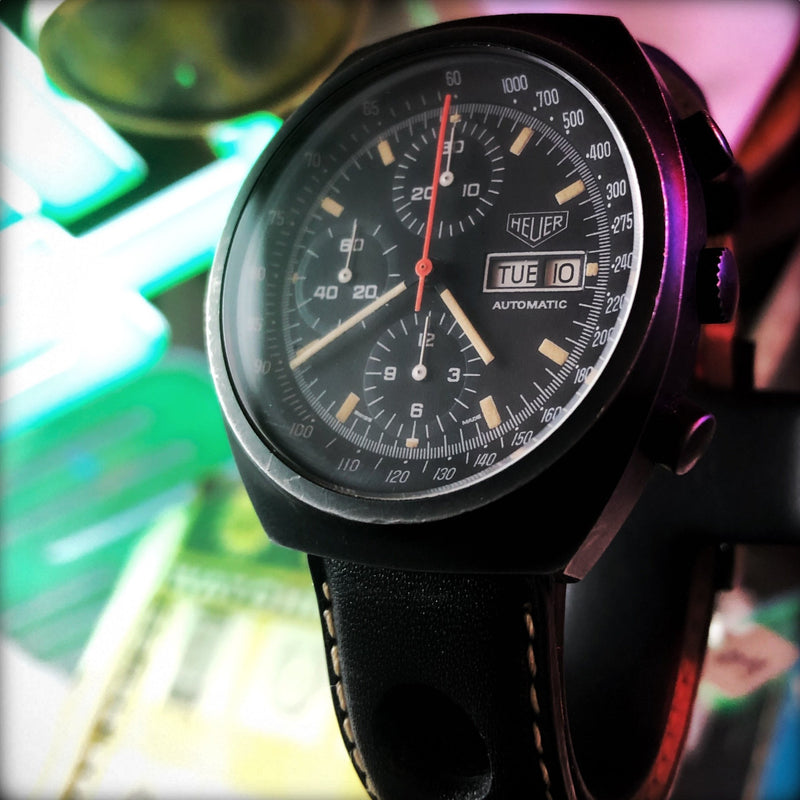 Watch Guide Video: Heuer Pasadena Chronograph