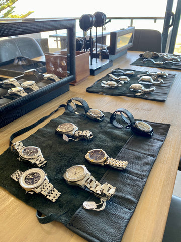 Tauranga Watches in pop up shop