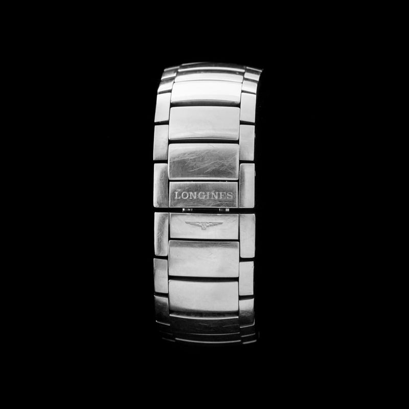 Longines Conquest on Integrated Bracelet