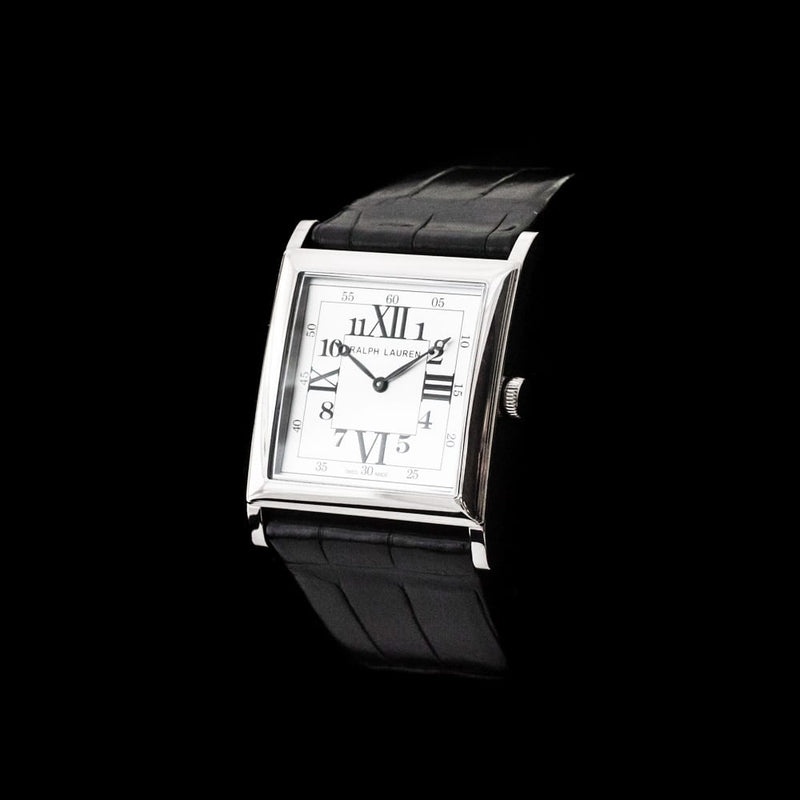 Ralph Lauren 18KT White Gold Dress Watch - 867 Manual Wind