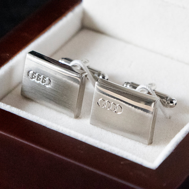 Cufflinks - Audi Rectangle