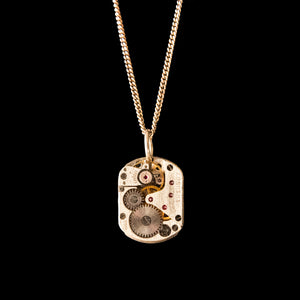 Watch Movement Necklace - 3/545