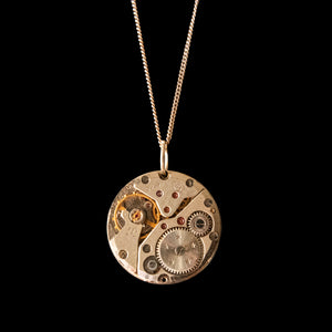 Watch Movement Necklace - Piper