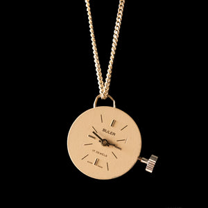 Watch Movement Necklace - 6/545