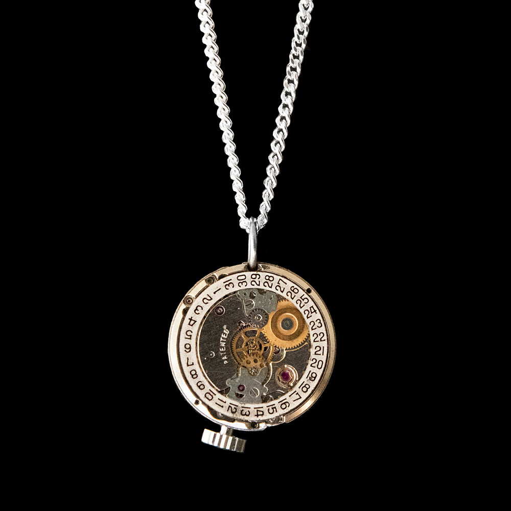 Watch Movement Necklace - Isla