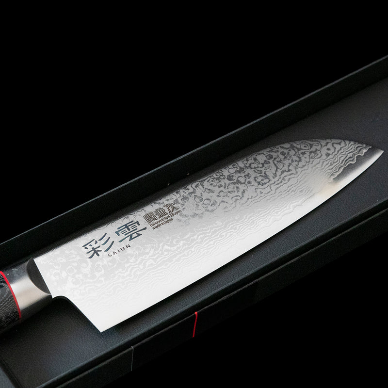 Hand Forged Japanese Santoku Knife 170mm
