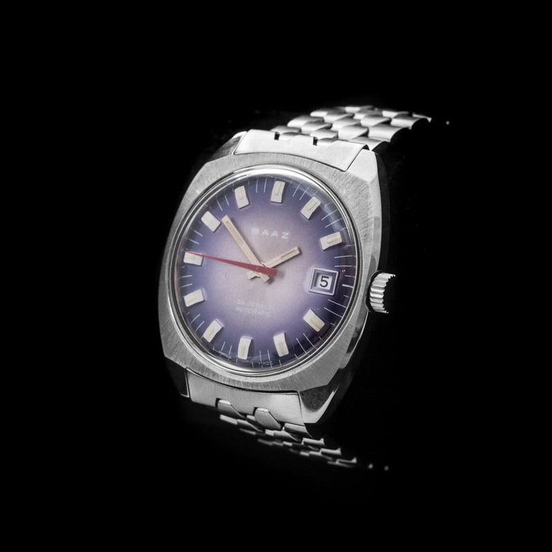 BAAZ 25 Jewel Automatic Wristwatch on Bracelet