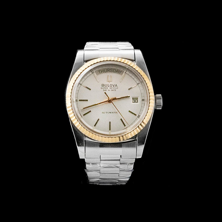 Bulova - Super Seville Day Date 1991