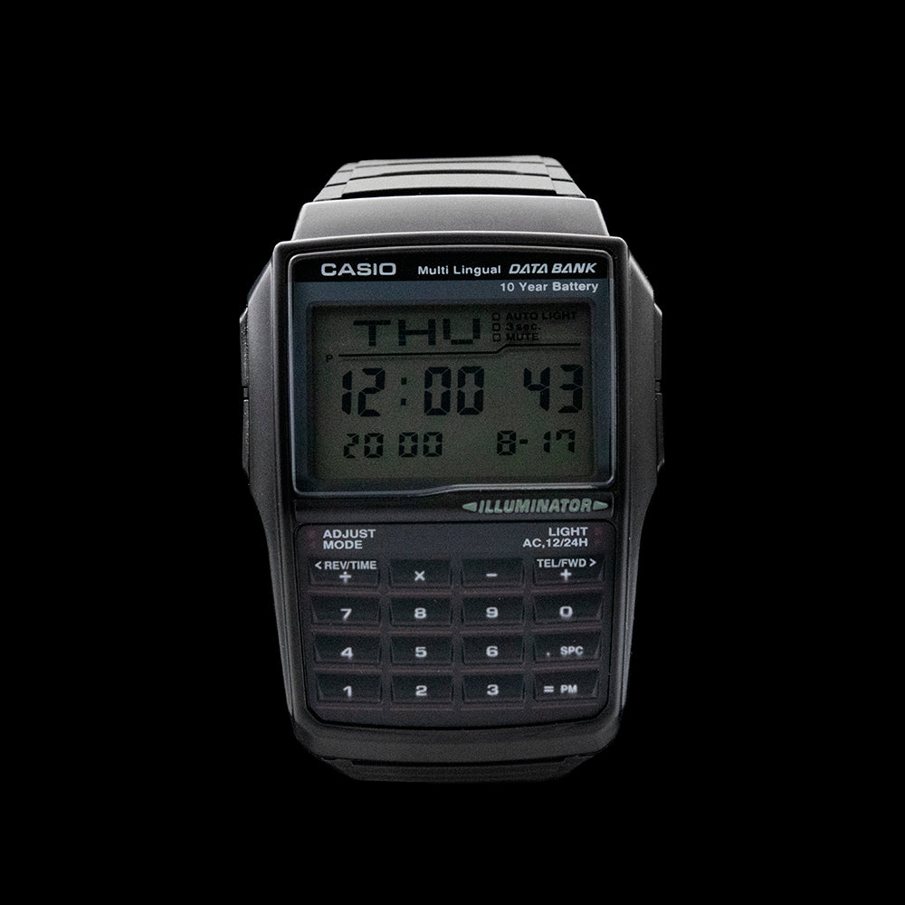 Casio - Digital Black Calculator
