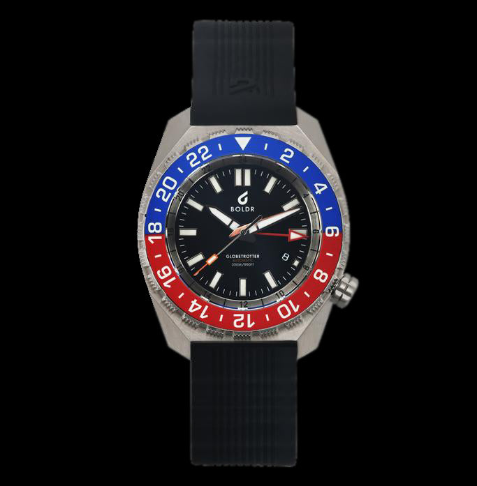 Boldr - Globetrotter GMT Red/Blue