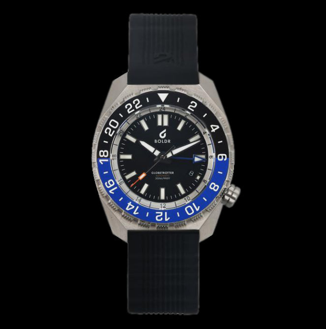 Boldr - Globetrotter GMT Blue/Black