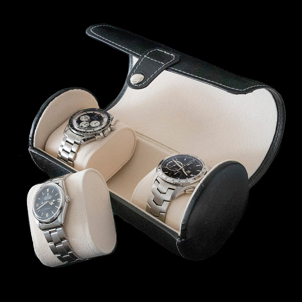 Cylindrical 3 Watch Holder