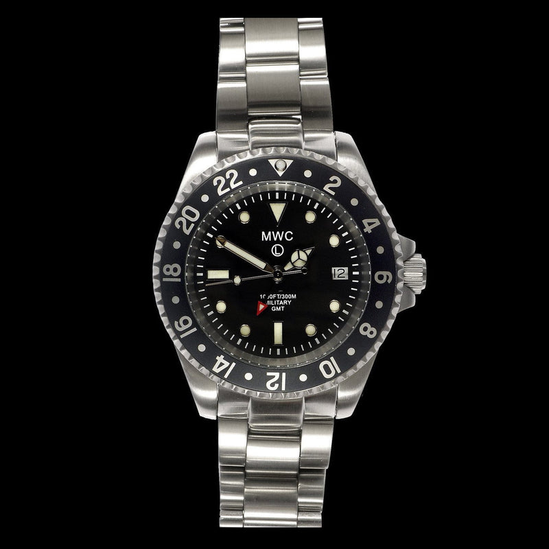 MWC - GMT Stainless Steel Military Watch