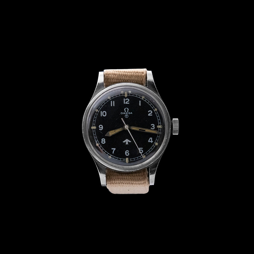 Omega - 1953 Broad Arrow RAF Pilots Watch