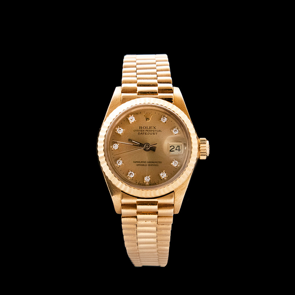 Rolex - 1981 Ladies Datejust 'President'
