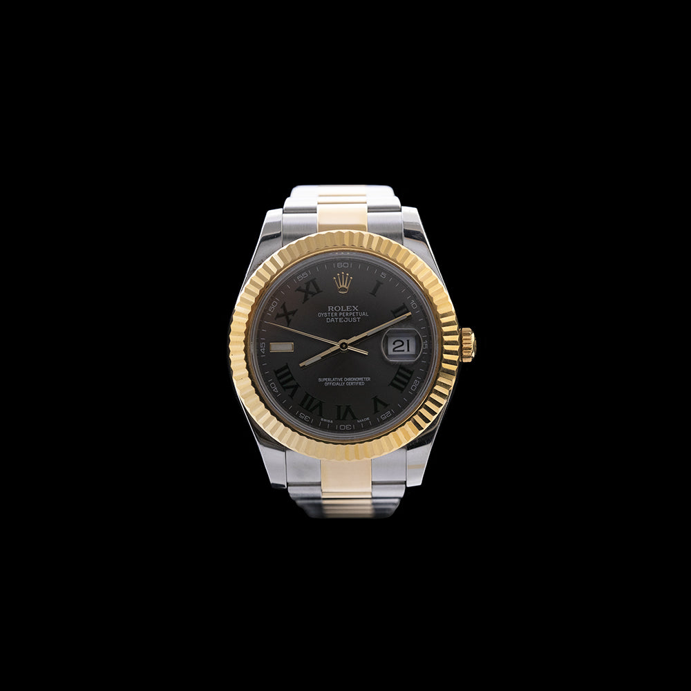 Rolex - 2015 Datejust II Steel & Yellow Gold