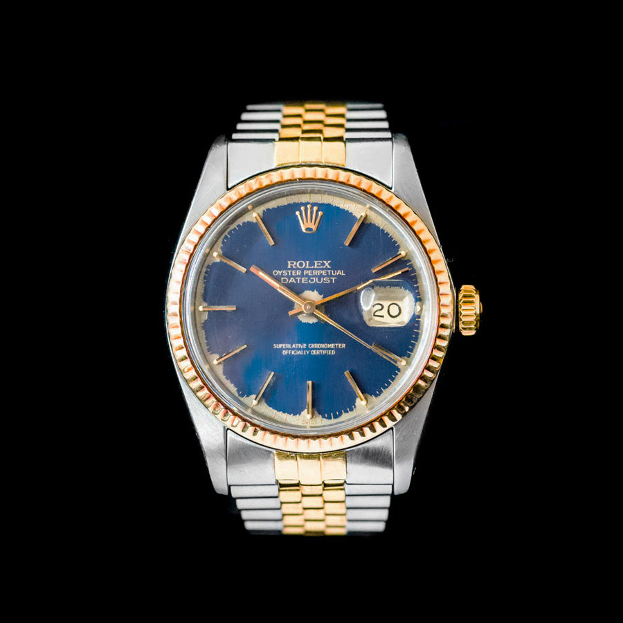 Rolex Datejust 36 Two Tone - Blue Index Dial