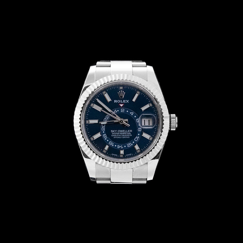 Rolex - Skydweller Blue Steel & White Gold