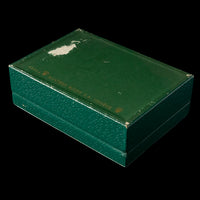 Rolex Box - Green with wooden interior